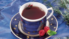 Cranberry-Raspberry Ginger Tea