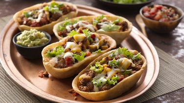 Beef Chimichanga Taco Boats™