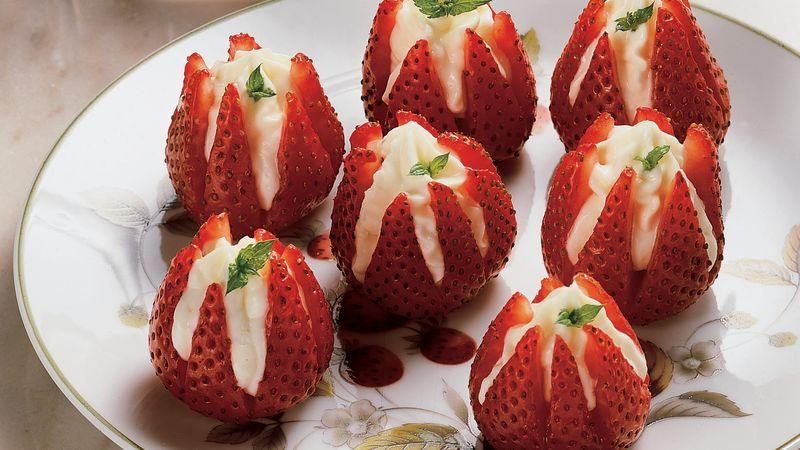 Strawberry Blossoms