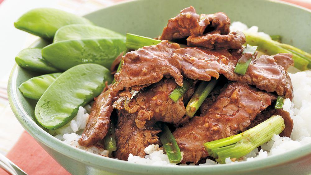 Mongolian Beef Skillet