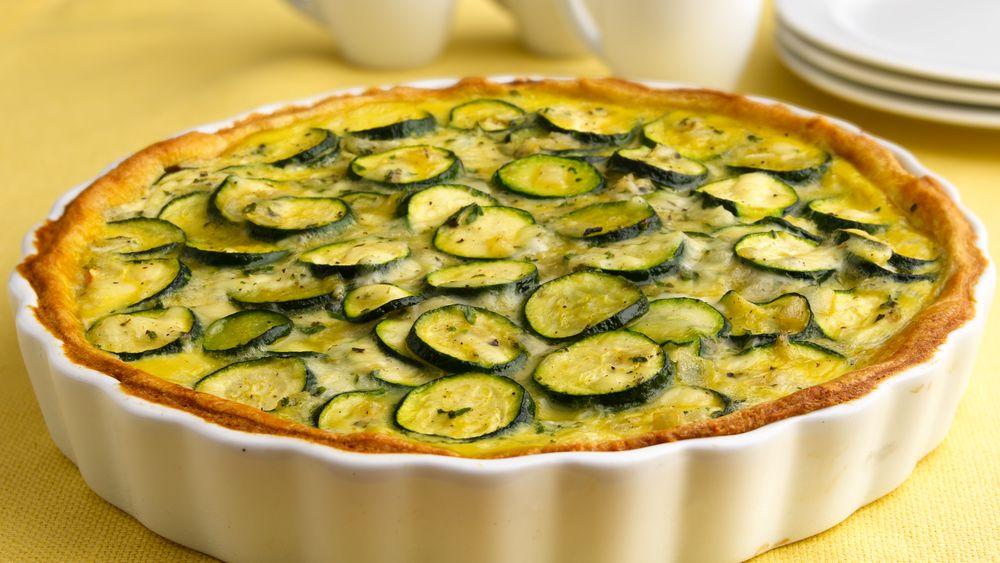 Italian Zucchini Crescent Pie recipe from Pillsbury.com