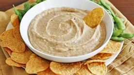 Roasted Garlic-White Bean Dip