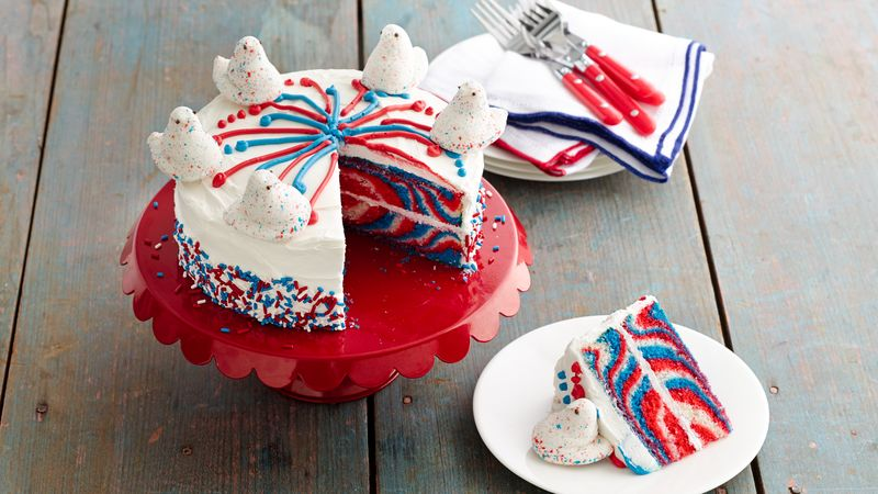PEEPS® Fireworks Layer Cake