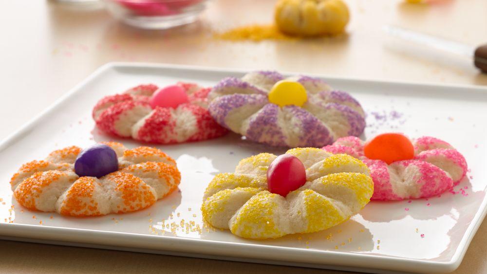 Fun Flower Cookies