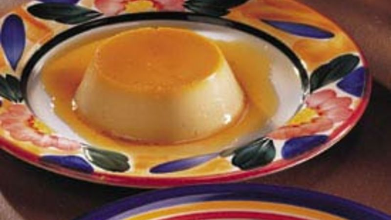 Flan Recipe Bettycrocker Com