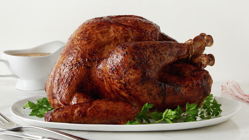 Soy- and Butter-Basted Turkey