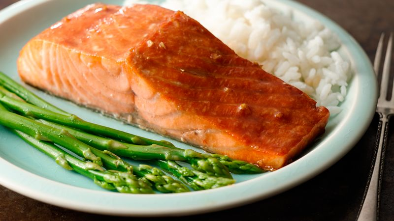 Grilled Salmon With Honey Soy Marinade Recipe Bettycrocker Com