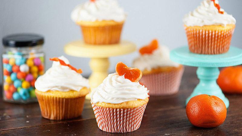 Petits gâteaux à l'orange et au citron