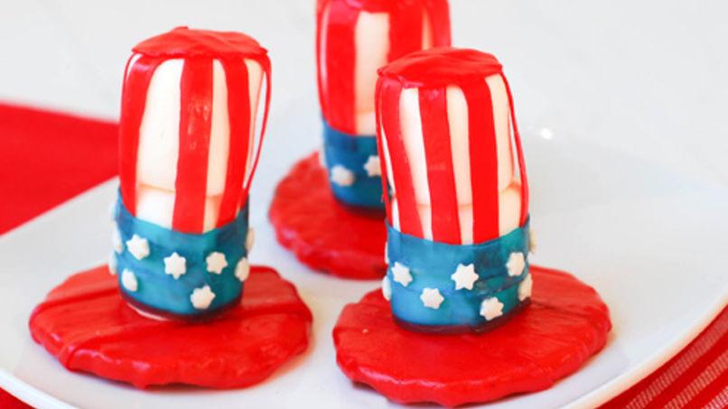 Patriotic Hats Recipe - QueRicaVida.com 4845c35a2193