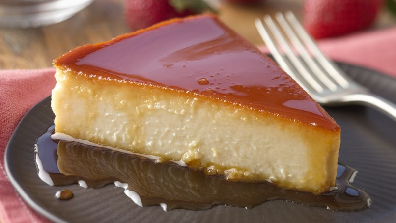 Cream Cheese Flan with Guava