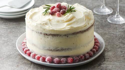 chocolate christmas celebration cake recipe bettycrockercom