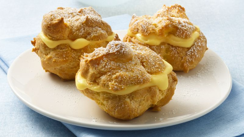 cream puffs recipe bettycrocker com