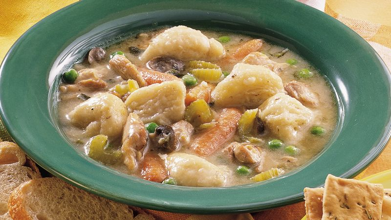 Slow cooked chicken and dumplings recipe pillsbury slow cooked chicken and dumplings ccuart Gallery