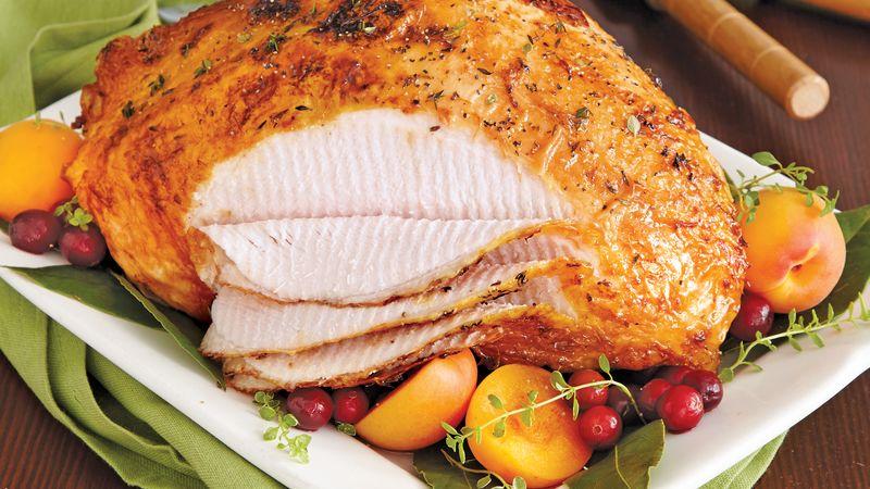 Smoky Maple-Glazed Turkey Breast