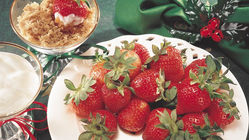Brown Sugar Strawberries
