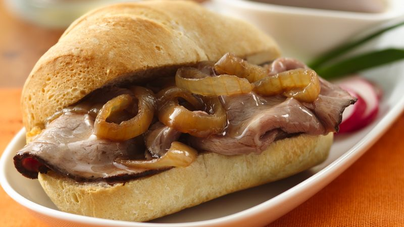 French Dip Sandwich with Deli Roast Beef