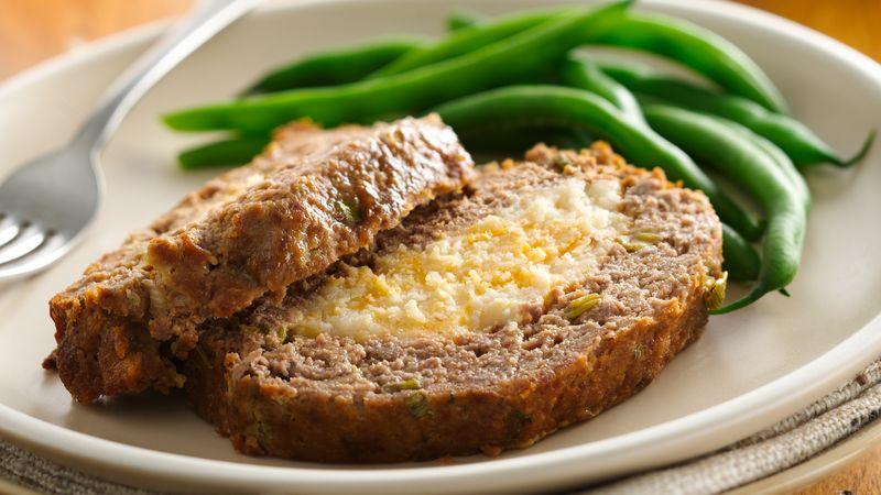 Mashed Potato Stuffed Meatloaf Recipe Bettycrocker