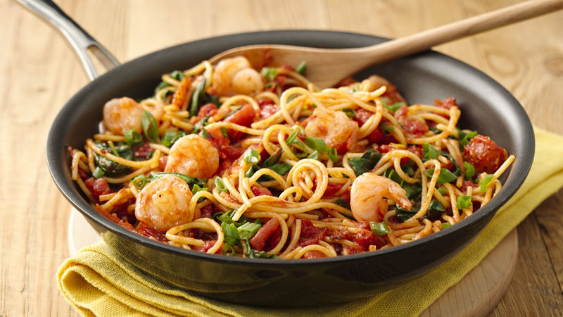 Rank 6 in best garlic shrimp pasta recipes with calories and ingredients list