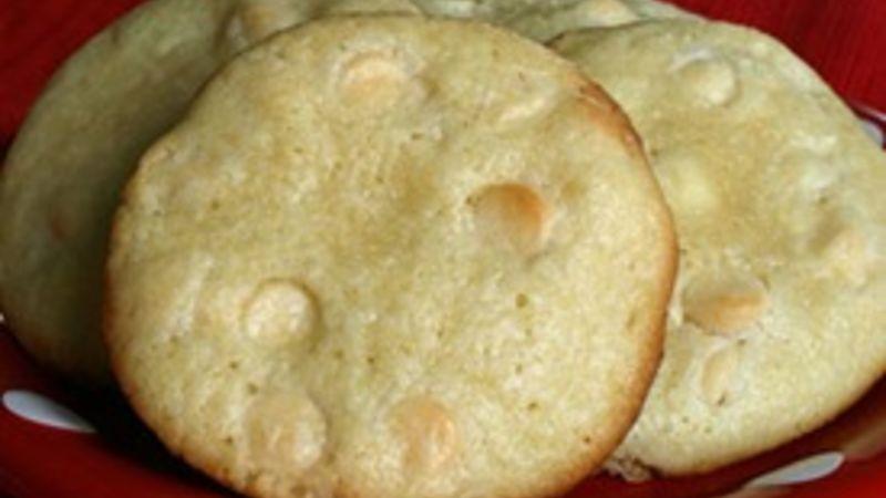 Lime White Chocolate Cookies