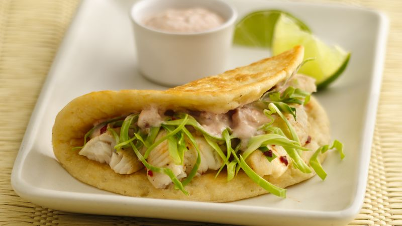 Zesty Lime-Fish Tacos