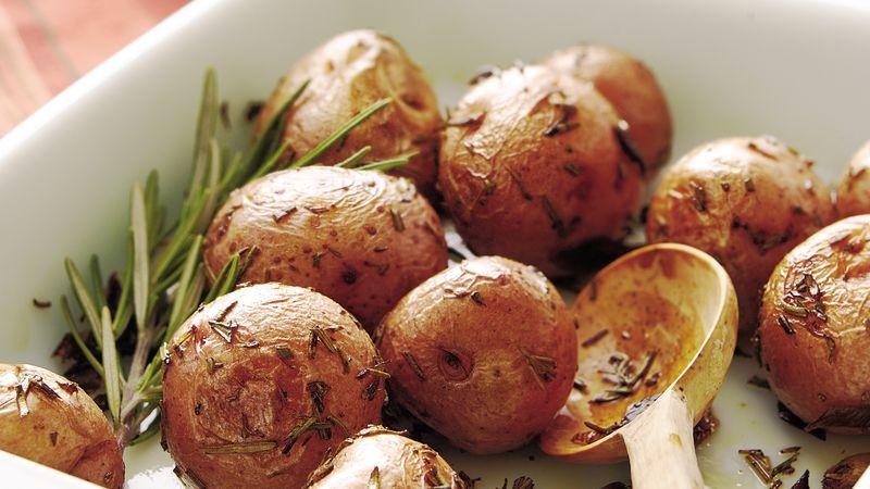 Roasted Red Potatoes Recipe Bettycrocker Com