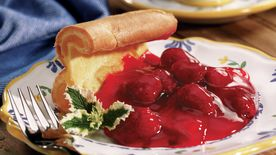 Strawberry Dutch Baby Pancake