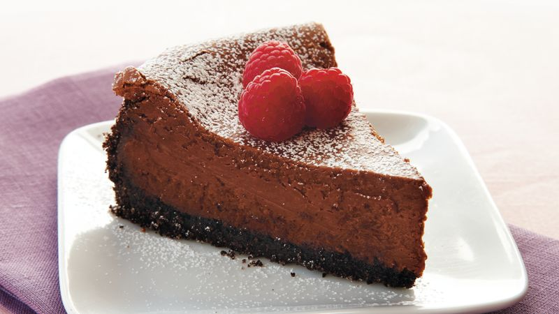 Bittersweet Chocolate Cheesecake