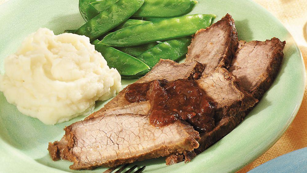 Teriyaki Grilled Beef Brisket