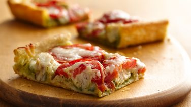 Pesto Turkey Squares