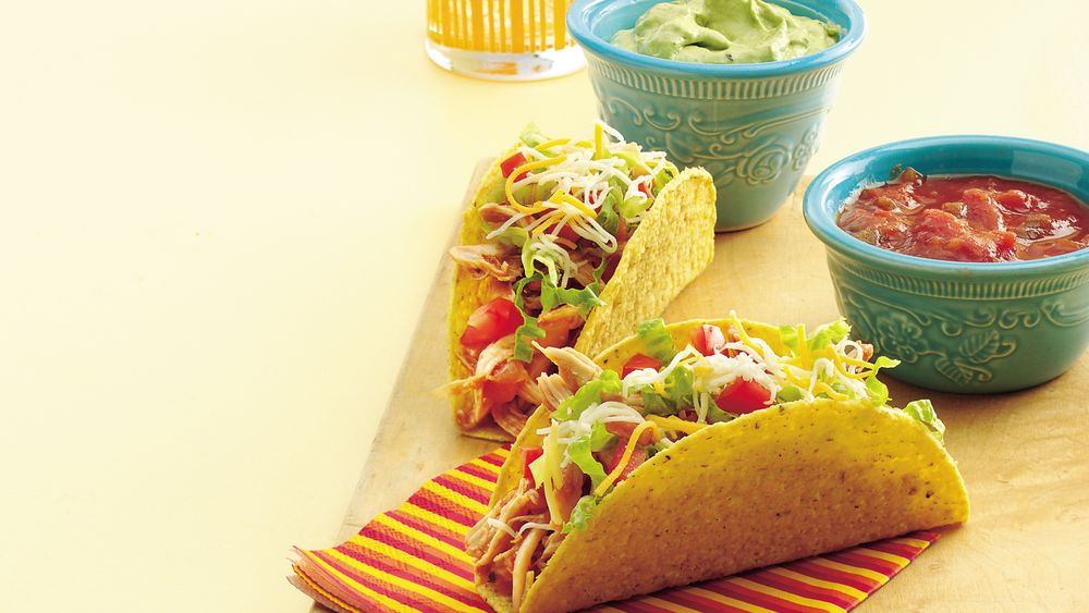 Stand 'N Stuff™ Chicken Tacos