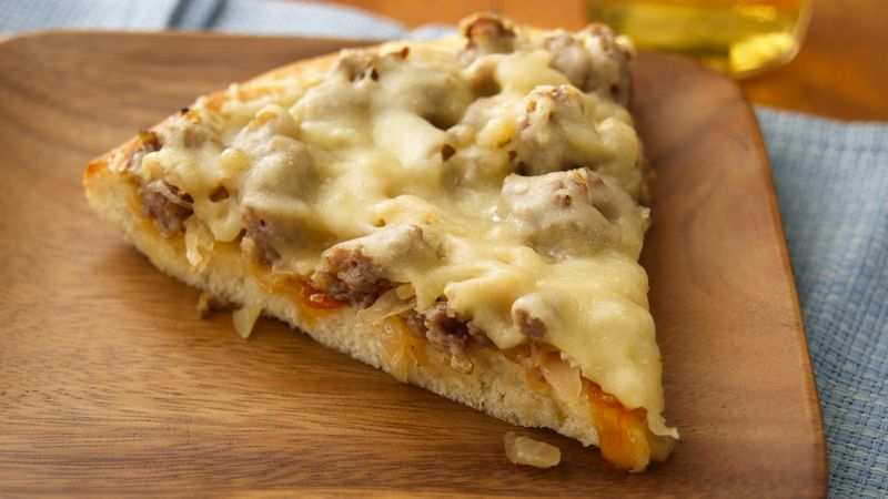 German-Style Sausage Pizza