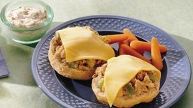 Tuna Melt Biscuits
