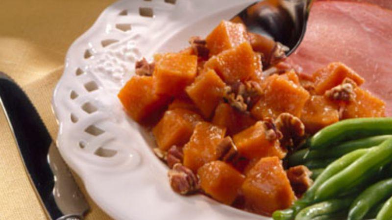 Sweet Potatoes with Applesauce