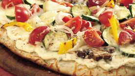 Grilled Fresh Veggie Pizza