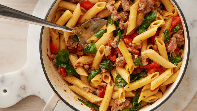 Italian Sausage One-Pot Pasta