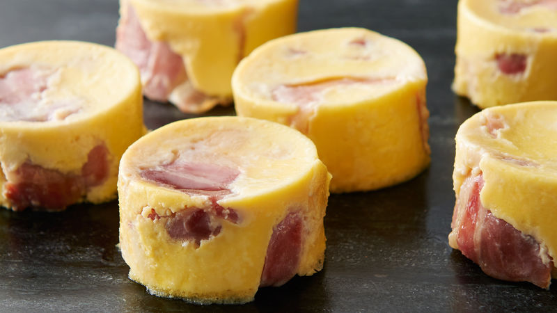 Copycat Starbucks™ Sous Vide Bacon and Gruyère Egg Bites
