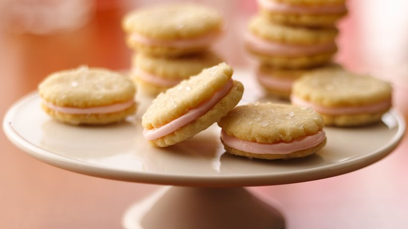 Mini Almond Sandwich Cookies