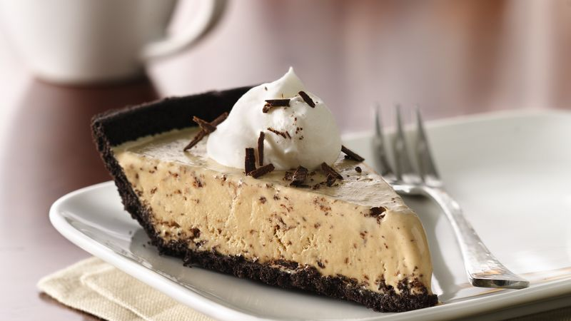 Frozen Hazelnut-Mocha Pie