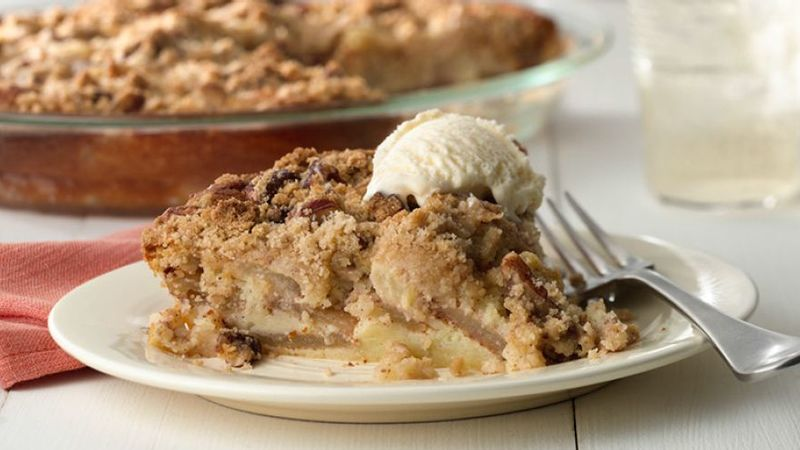 Impossibly Easy French Apple Pie