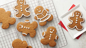 Easy Gingerbread Cookies