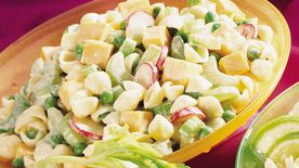 Cheese, Peas and Shells Salad
