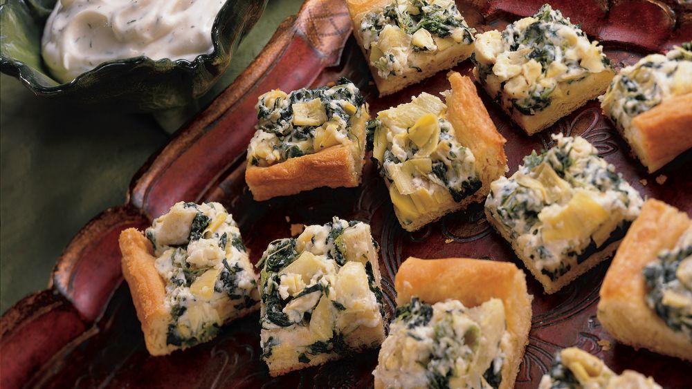 Baked Artichoke Squares