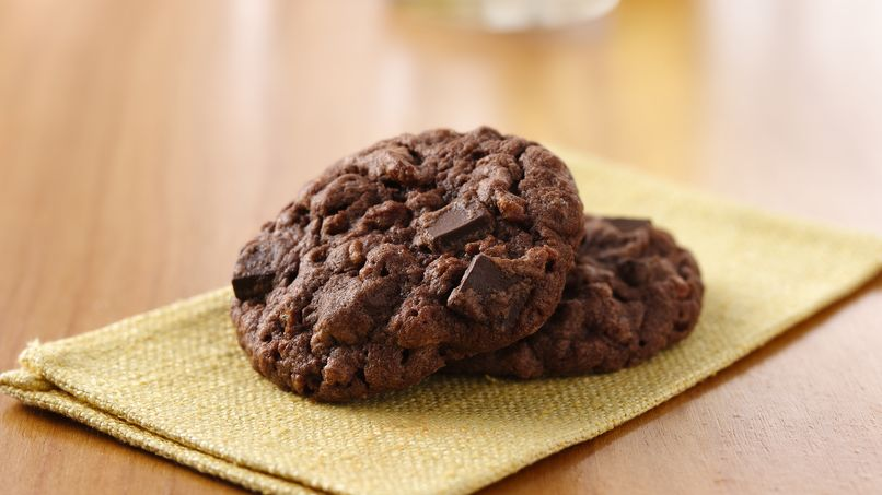 Galletas con Doble Chocolate