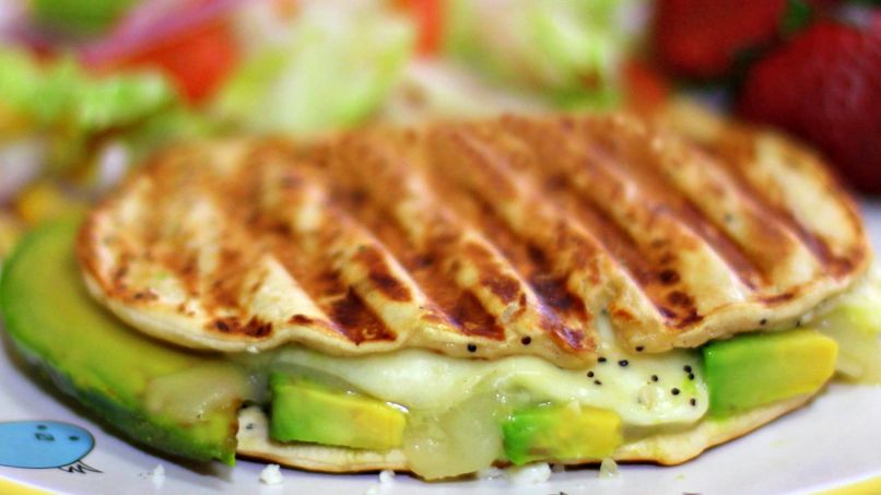 Grilled Cheese with Avocado