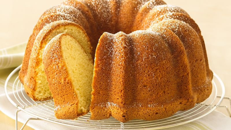 Cream Cheese Pound Cake Recipe Bettycrocker Com