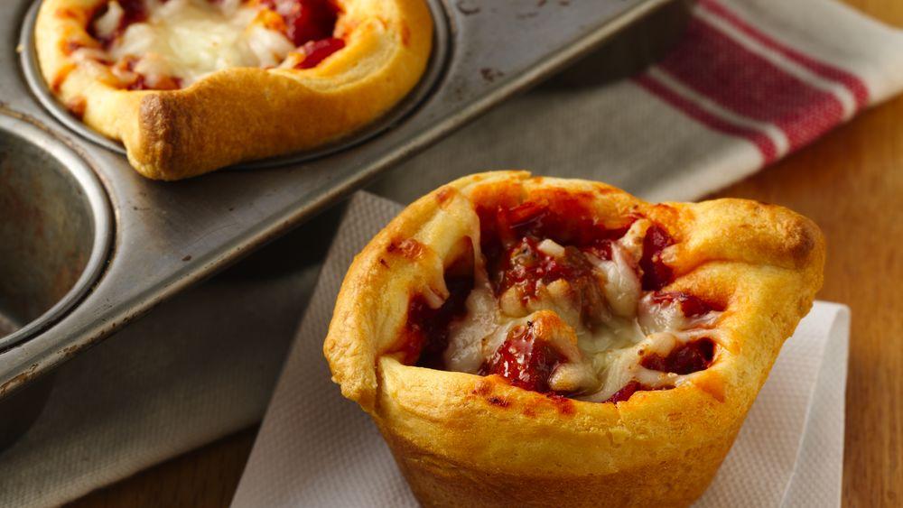 Pizza Cupcakes Recipe Pillsbury Com