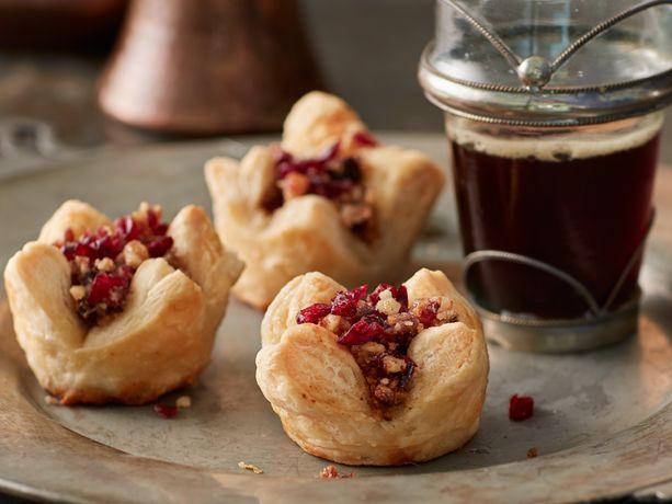 Cranberry Nut Baklava Cups