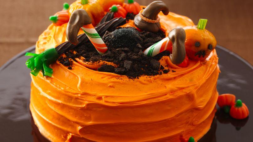 Crash Landing Witch Cake