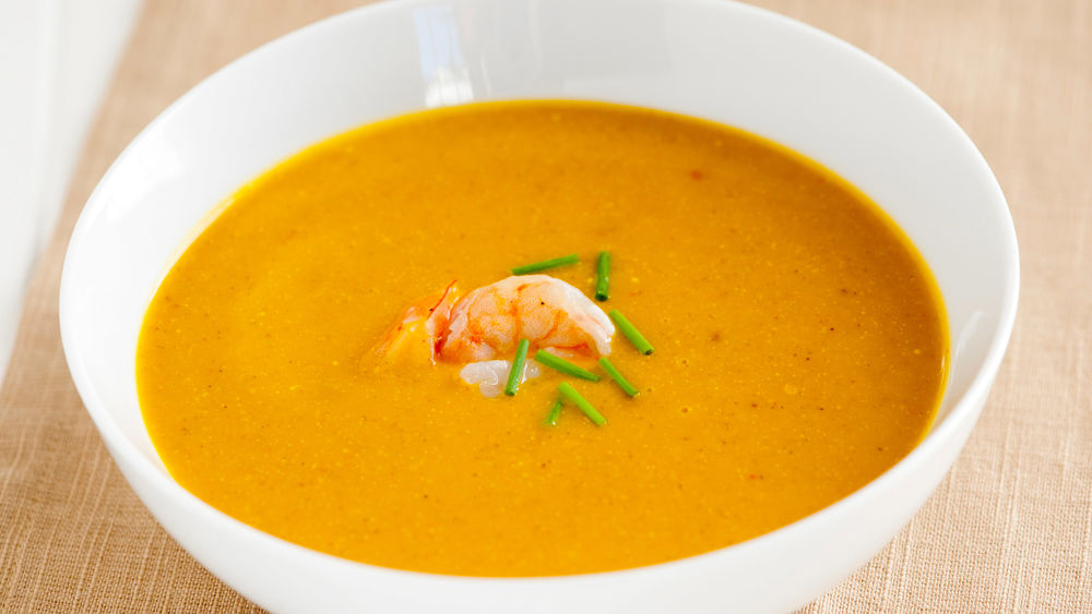 Curried Winter Squash Soup