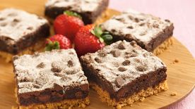 Mexican Chocolate Crunch Brownies